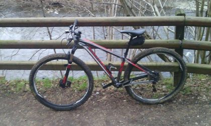 Ruba bicicletta inseguito e bloccato