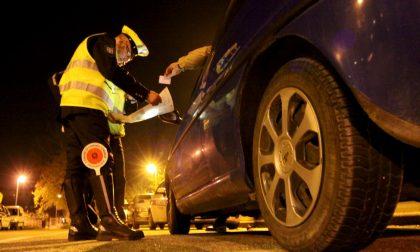 Patenti ritirate per alcol alla guida