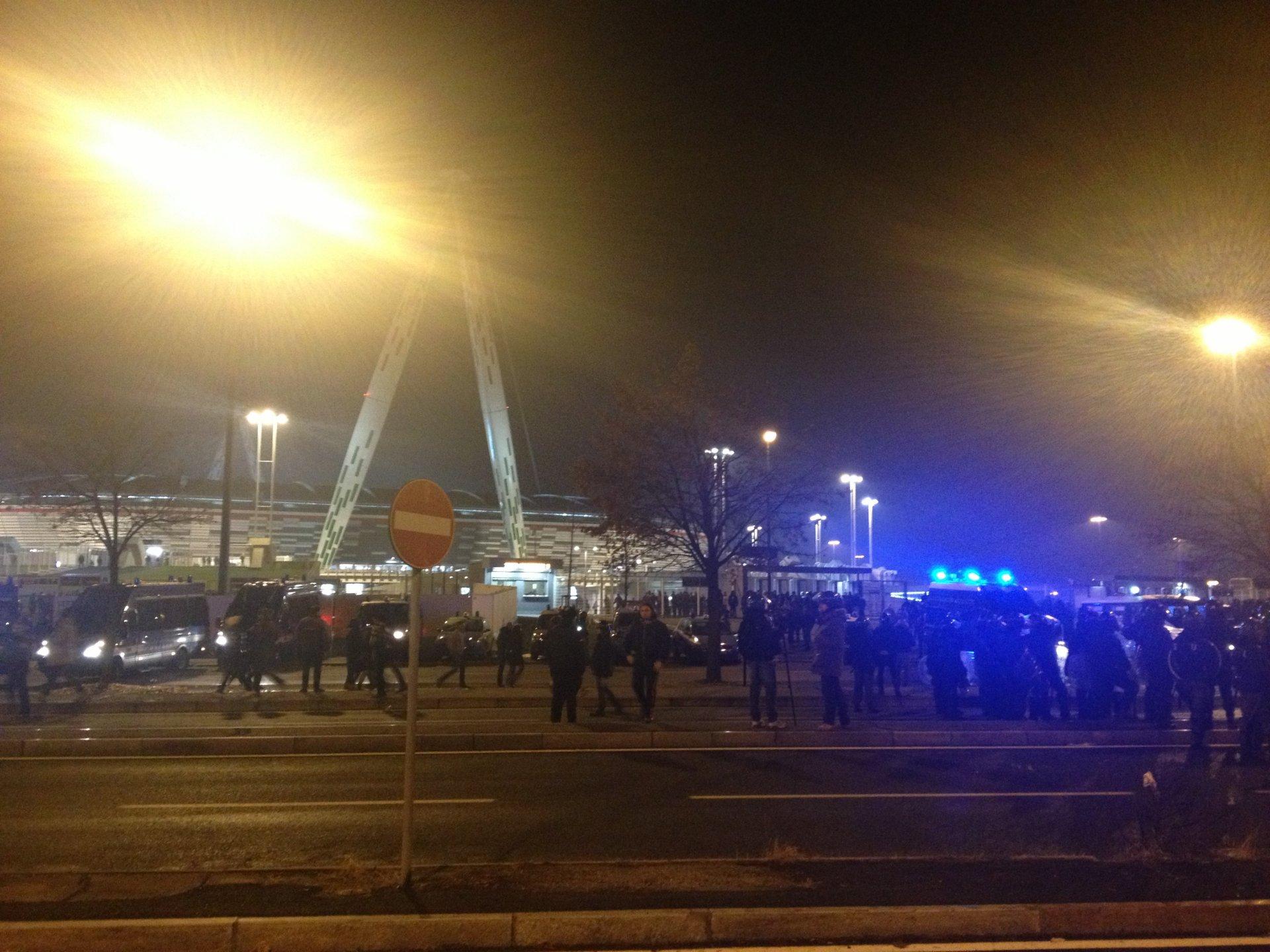 Scritte Razziste Fuori Dallo Juventus Stadium La Nuova