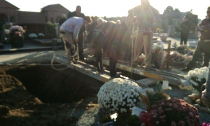 Funerali Geppo con No woman no cry LE FOTO