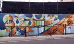 Murales completato nel sottopasso