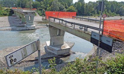 Ponte sul Po oggi un anno dalla chiusura