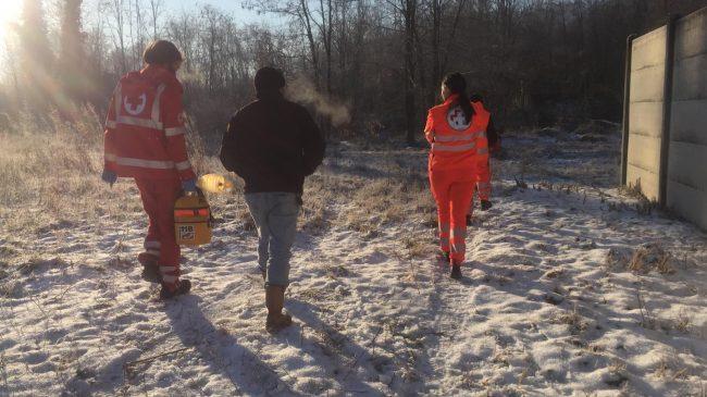 Cadavere trovato nei campi IL VIDEO