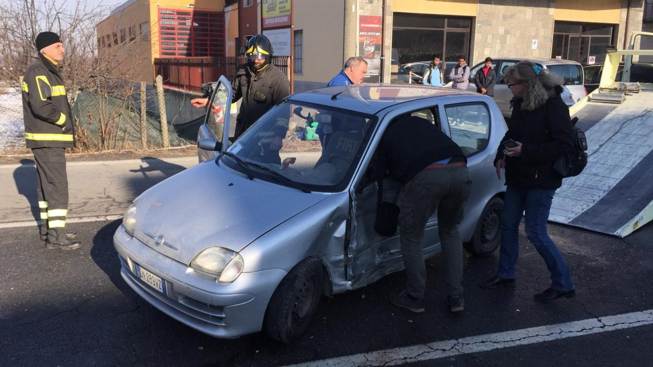 Incidente sulla 590 a Cavagnolo