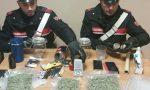 Droga sotto maglioni due arrestati
