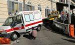Ambulanza schiantata sulla rampa del pronto soccorso di Chivasso I VIDEO