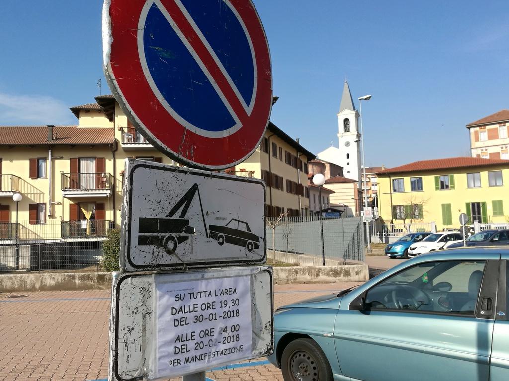 Caos parcheggi arrivano le giostre