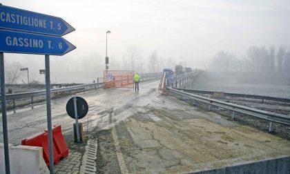 Ponte sul Po riapre domani