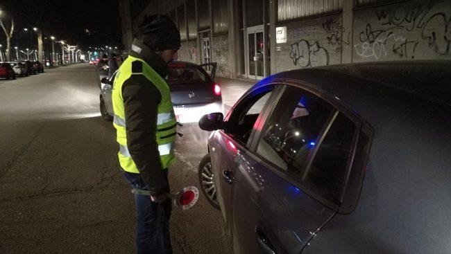 Controlli stradali   Notte di multe