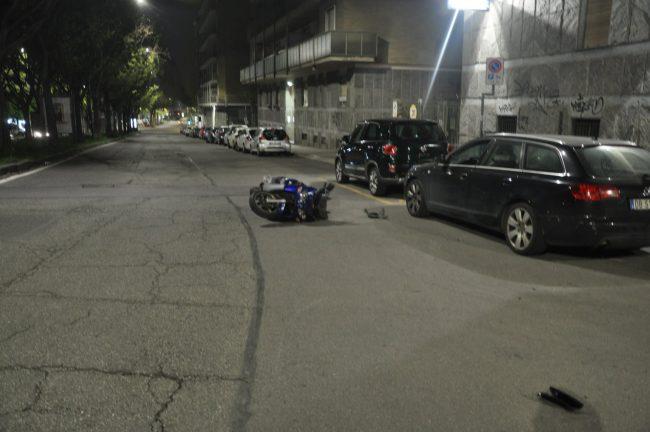 Scooter contro viale ECCO CHI E&#8217&#x3B;
