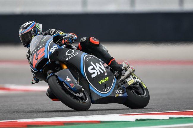 Moto2, FP1: Oliveira di misura su Marquez, 5° Bagnaia