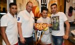 Pizza Ronaldo, Venaria accoglie il fuoriclasse Cr7