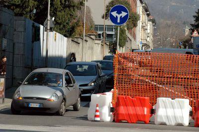 Via Massena, modifiche alla viabilità per il cantiere Iren