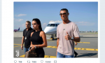 Cristiano Ronaldo è atterrato a Torino, l'annuncio della Juventus