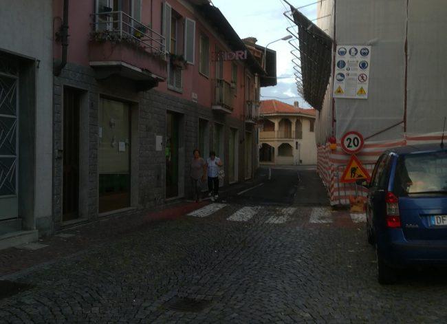 Palazzo Carpeneto, dopo mesi riapre sottopasso e la strada