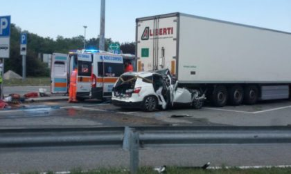 Incidente mortale in autostrada, una vittima