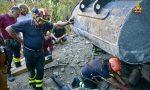 Cane intrappolato tra le rocce, salvato dai vigili del fuoco LE FOTO DEI POMPIERI