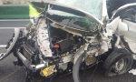 Incidente sulla A4, tre auto coinvolte LE FOTO