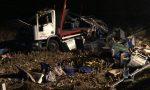 Camion si ribalta lungo la strada che porta a Cigliano UN MORTO