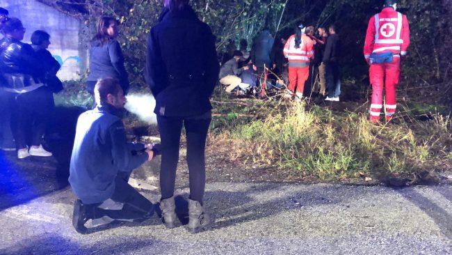 Incidente a Pandino: due feriti non gravi