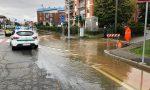 Corso Galileo Ferraris come un fiume FOTO e VIDEO