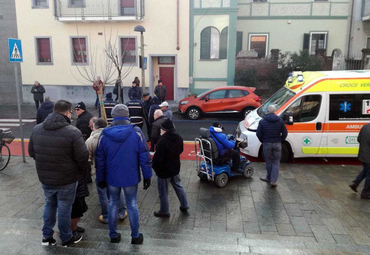 pista ciclabile via Torino