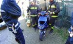 Il motorino rubato era parcheggiato in piazza. Recuperato dai vigili e restituito LE FOTO