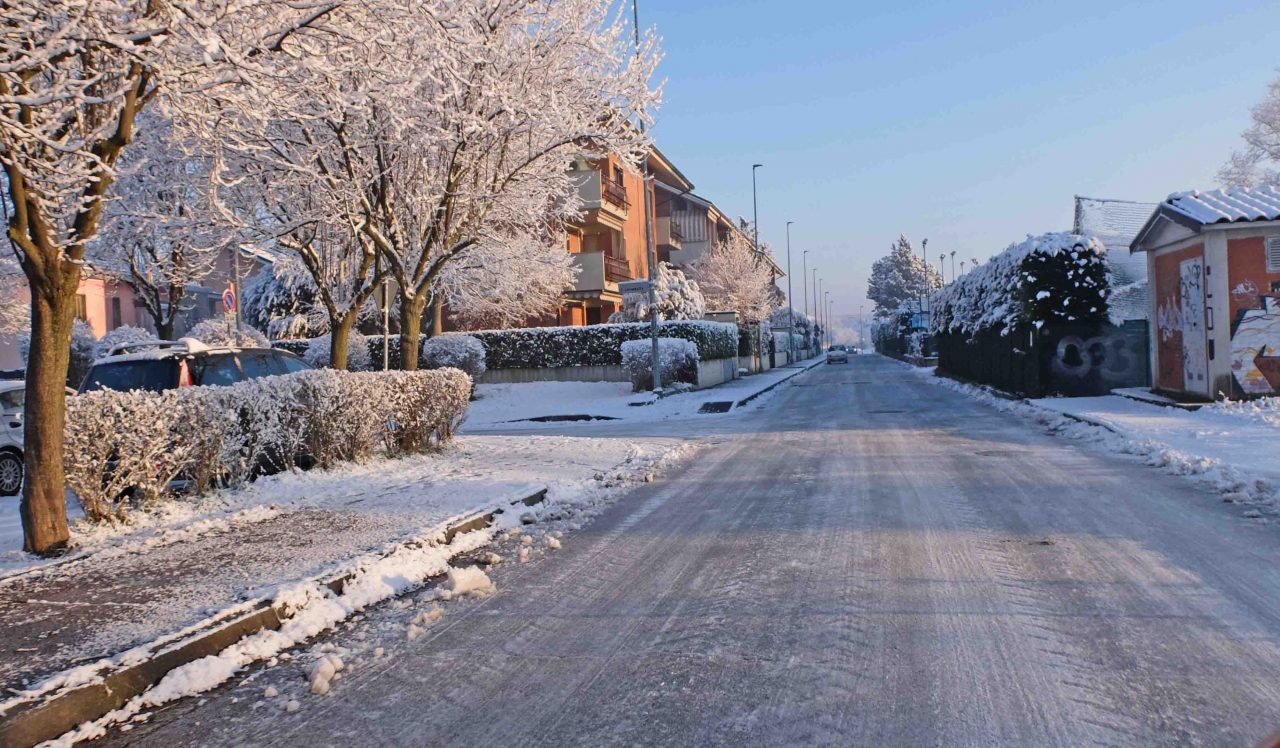 ghiaccio e neve a Settimo