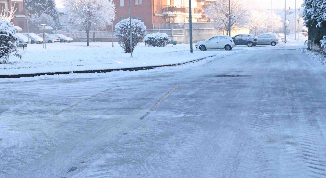 Neve nessun problema a Chivasso e nel Vercellese
