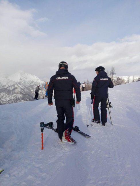 I controlli sulle piste da sci