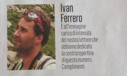 Ivan Ferrero, il vigile del fuoco era un appassionato di fotografia