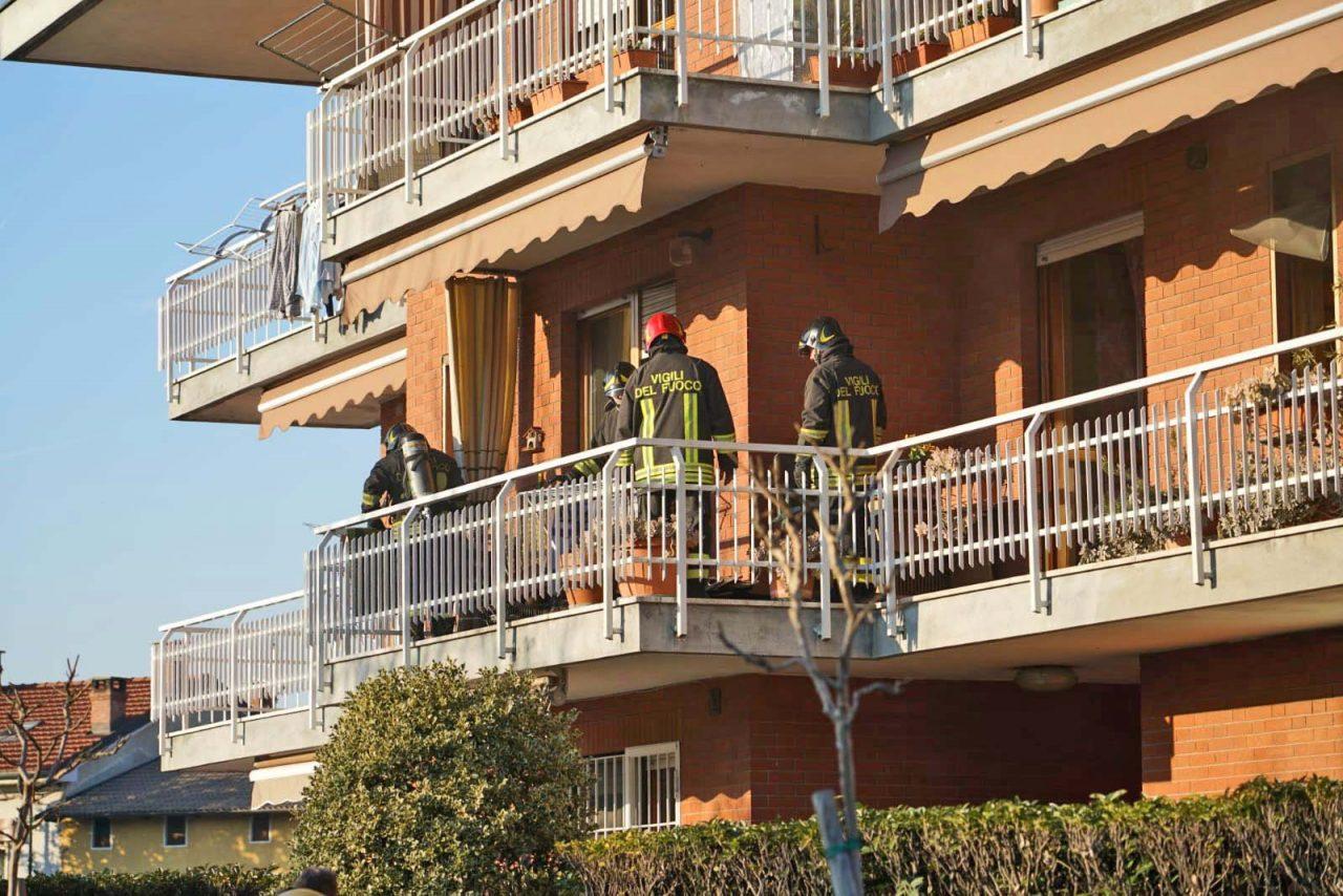 Incendio in abitazione: tanta paura ma nessun ferito