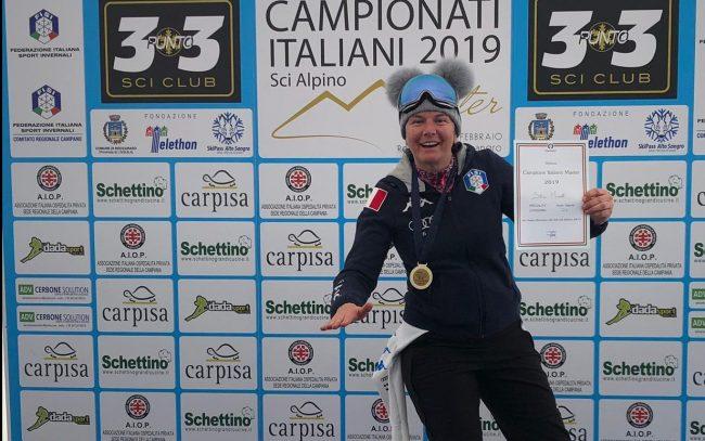 Silvia Panico Campionessa di Slalom