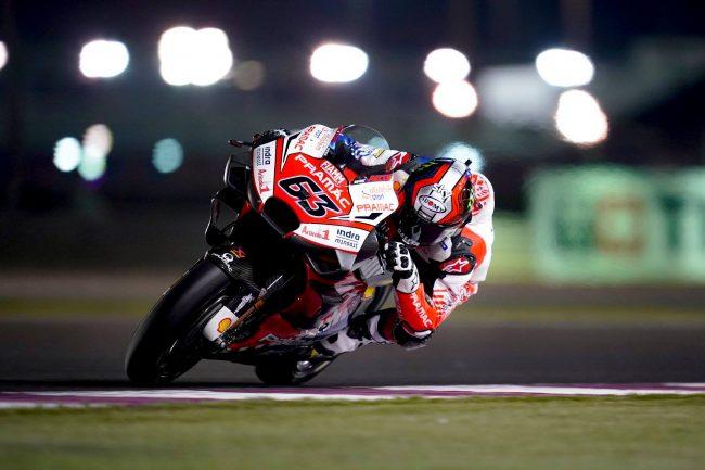 MotoGp Qatar, Pecco Bagnaia obbligato al ritiro