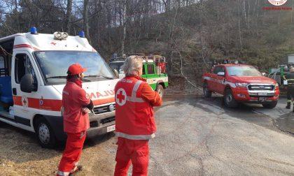 Boschi in fiamme in Piemonte, una persona denunciata