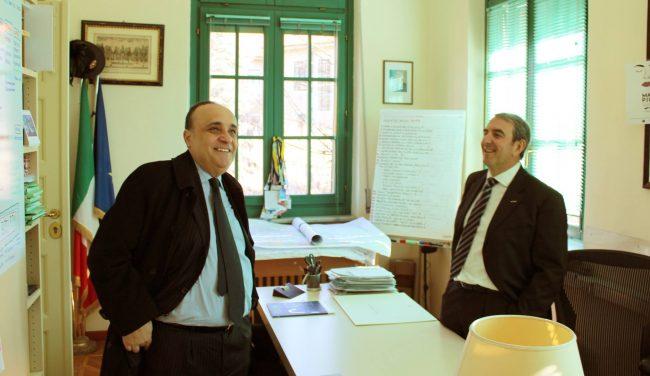 Il Ministro della cultura Alberto Bonisoli incontra il sindaco per il futuro del territorio