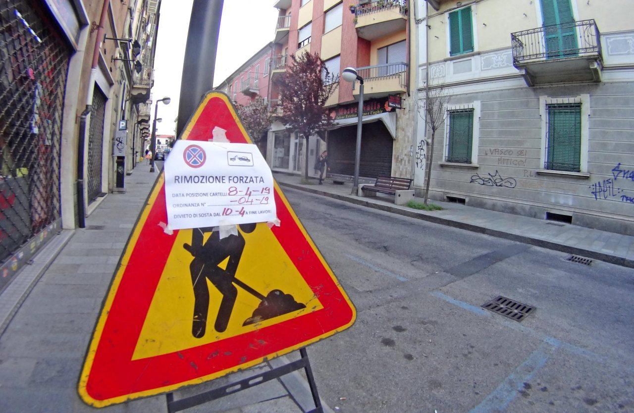 via Roma pedonale Settimo