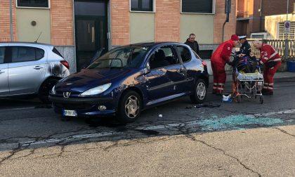 Chivasso, traffico paralizzato per un incidente FOTO E VIDEO