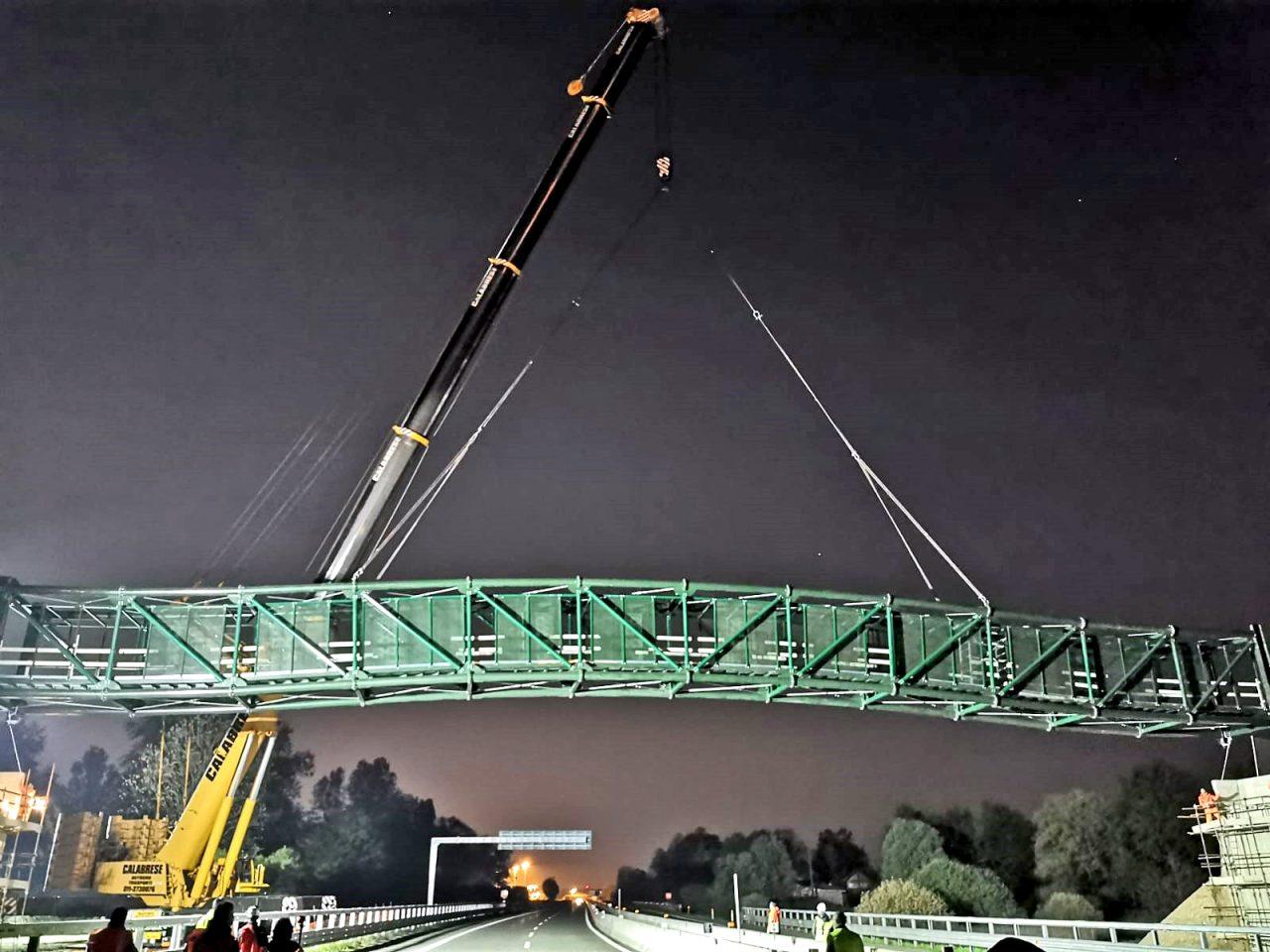 ponte ciclopedonale Settimo