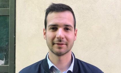 Umberto Fasoglio vicino alla sua elezione