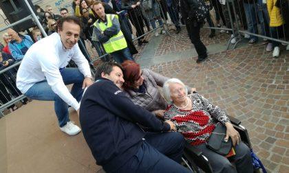 In coda per un selfie con Salvini