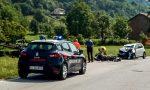 Incidente frontale fra auto e moto, centauro in codice rosso LE FOTO