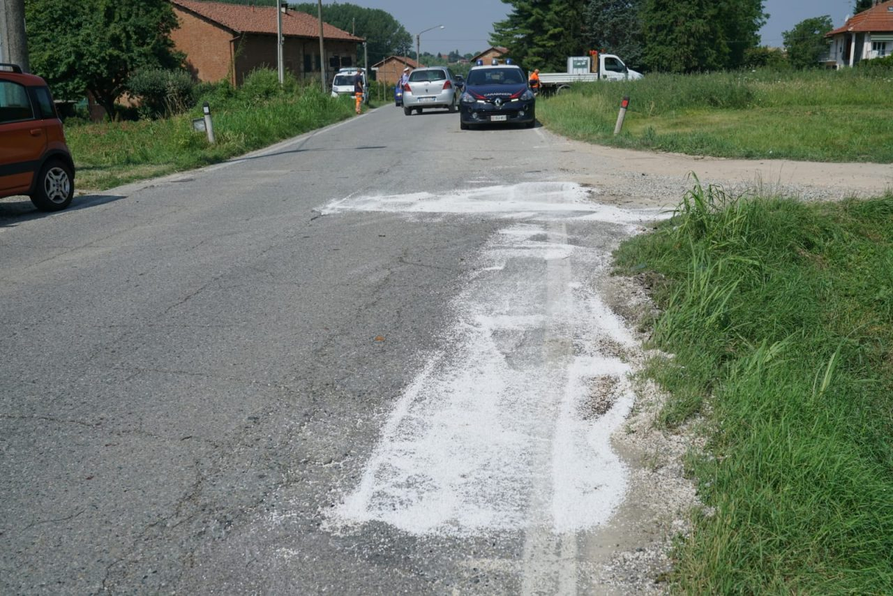 incidente auto moto gassino bussolino