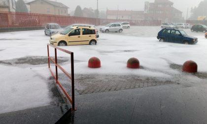 Maltempo sul territorio: acqua e grandine allagano le strade