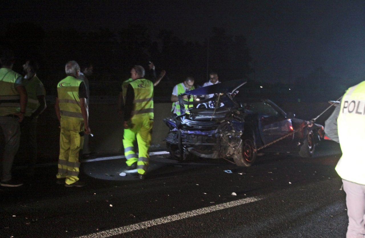 incidente mortale in autostrada A4 Settimo