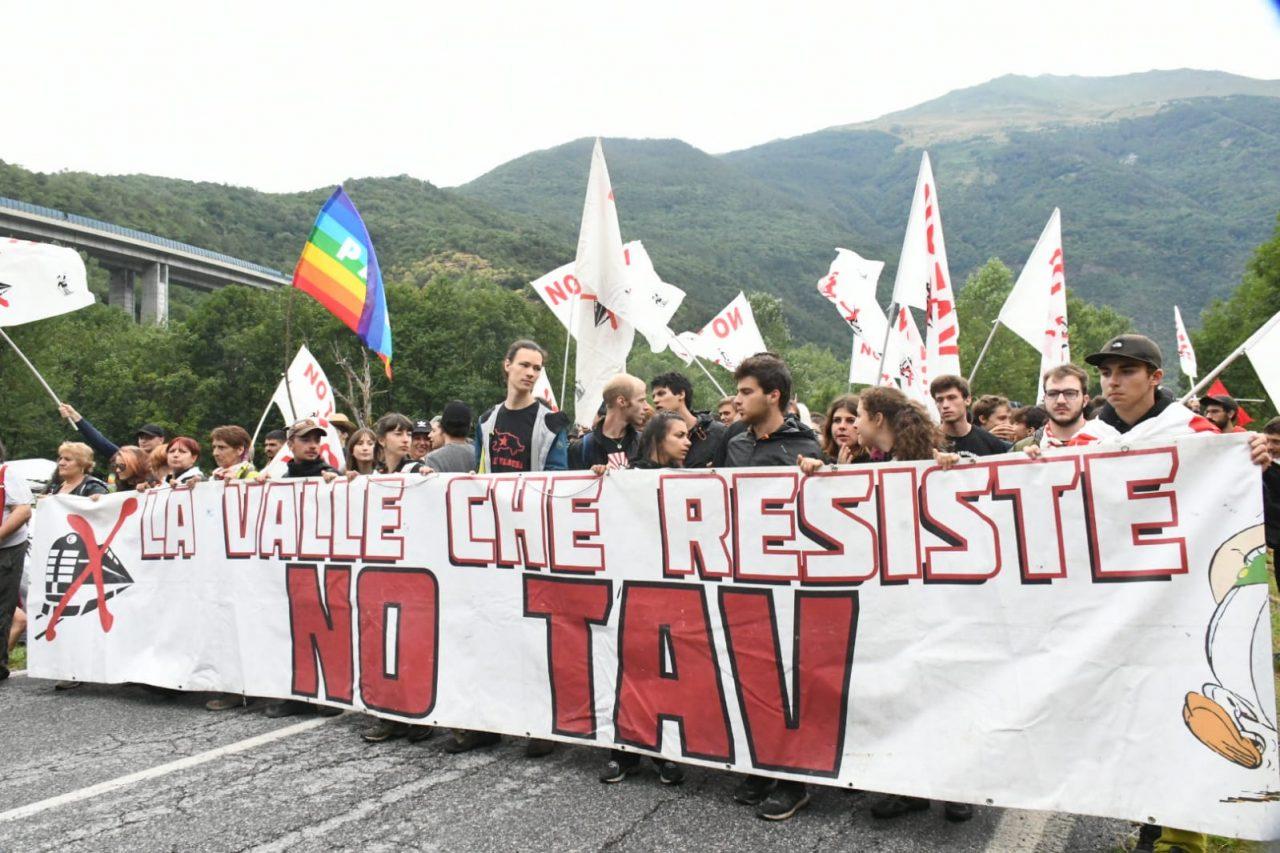 No Tav, il corteo di protesta verso il cantiere.