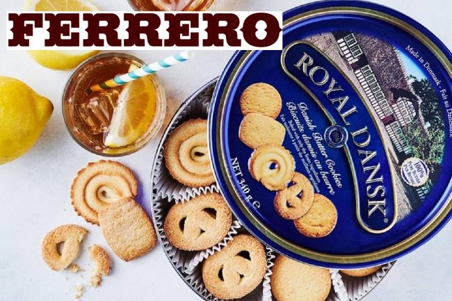 Scatola Latta Biscotti Natale.Ferrero Acquista I Biscotti Nella Scatola Di Latta Blu Prima Chivasso