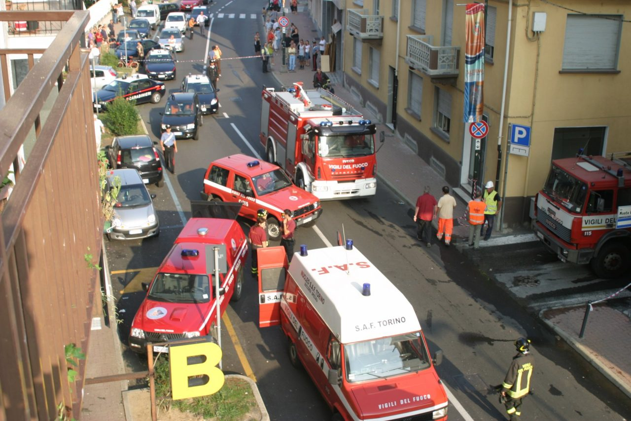 Villetta esplosa
