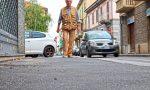 Via Verdi: strada aperta ma i lavori non sono ancora terminati FOTO