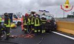 Incidente sulla A4, coinvolta un'ambulanza